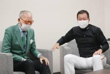 長嶋元監督、阪神戦を観戦 東京ドームで原監督激励 画像1