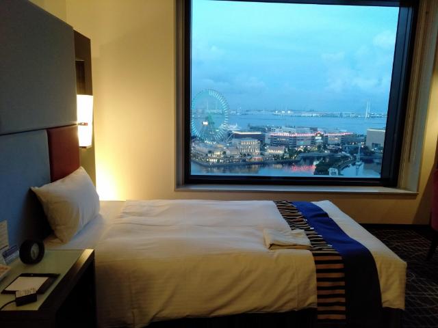 ここが日本!?横浜の感動夜景を楽しめるホテルに泊まってみた【ニューオータニイン横浜プレミアム】 画像9