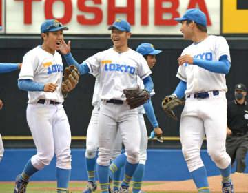 東大が初勝利、慶明引き分ける 東京六大学野球第2週 画像1
