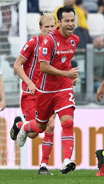 サンプドリア吉田が今季2点目 サッカー、イタリア1部 画像1