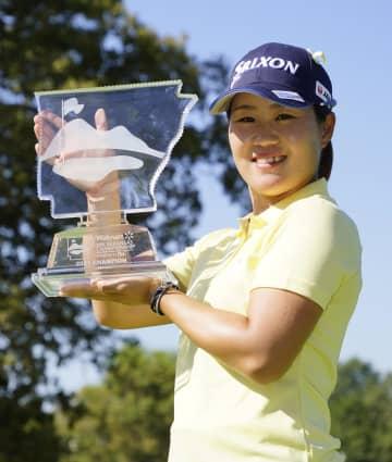 女子ゴルフ畑岡が米通算5勝目 22歳、日本歴代3位 画像1