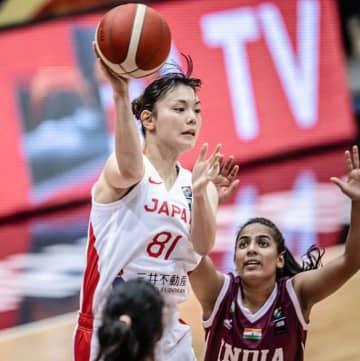 バスケ女子5連覇へ白星スタート アジア杯、インドに大勝 画像1