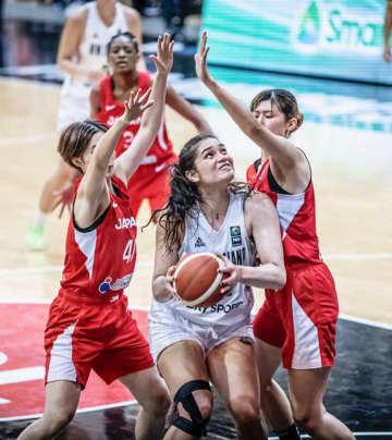 バスケ女子日本2連勝、アジア杯 1次リーグ第2戦 画像1