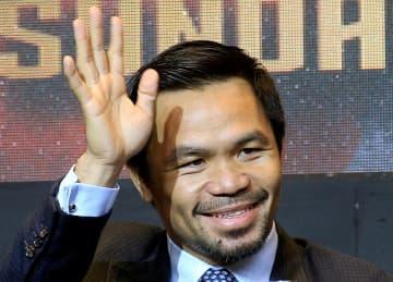 パッキャオ氏が引退表明 プロボクサー、比大統領目指す 画像1