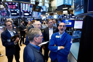NY株反発、90ドル高 割安感出た銘柄買い戻し 画像1