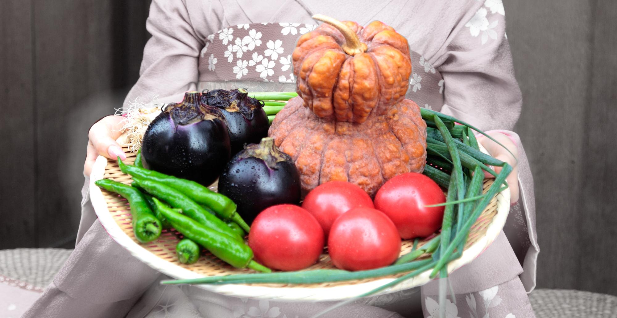 京都府産の野菜イメージ
