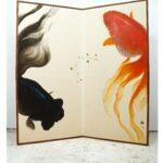 深堀隆介展「金魚鉢、地球鉢。」
