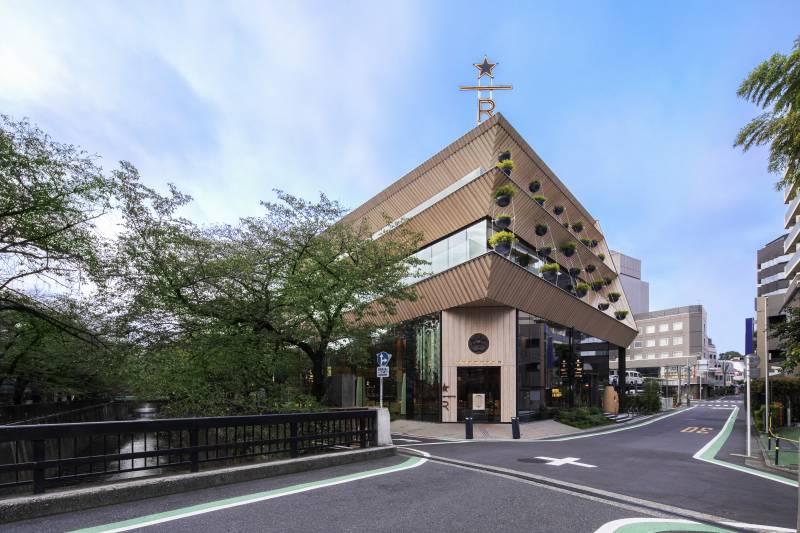 ロースタリー 東京とEDS観光タクシー(イメージ)