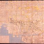 新板武州江戸之図 1666年(寛文6) 江戸東京博物館 所蔵