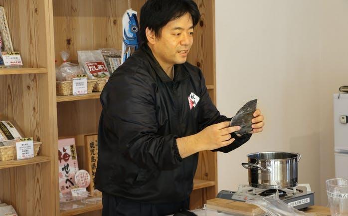 Mr.DASHI・中原晋司 さん