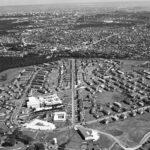 ワシントン・ハイツ(東京空撮写真) 佐藤翠陽撮影 1957年(昭和32) 江戸東京博物館 所蔵