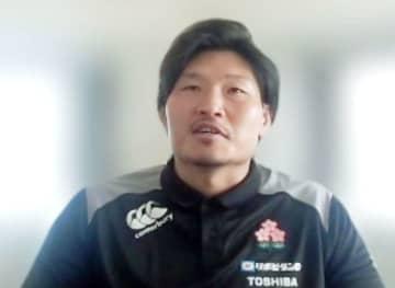 ラグビー稲垣、スタートに手応え 宮崎で日本代表候補合宿 画像1