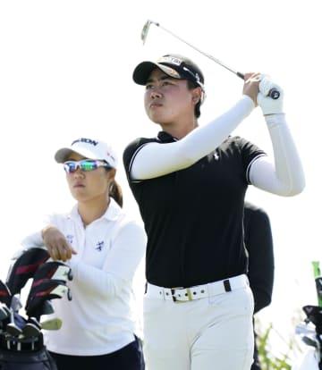 笹生は16位、畑岡は予選落ち 米女子ゴルフ第2日 画像1