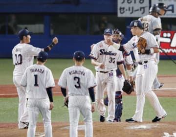 ヤクルト、阪神がCS進出決める セ・リーグ、2年ぶり開催 画像1