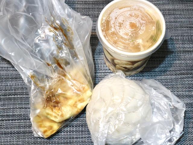 【台湾】鹹豆漿は夜ご飯にもおすすめ!朝6時から夜22時まで営業している豆乳店「四海豆漿大王」 画像6
