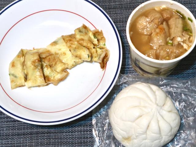 【台湾】鹹豆漿は夜ご飯にもおすすめ!朝6時から夜22時まで営業している豆乳店「四海豆漿大王」 画像7