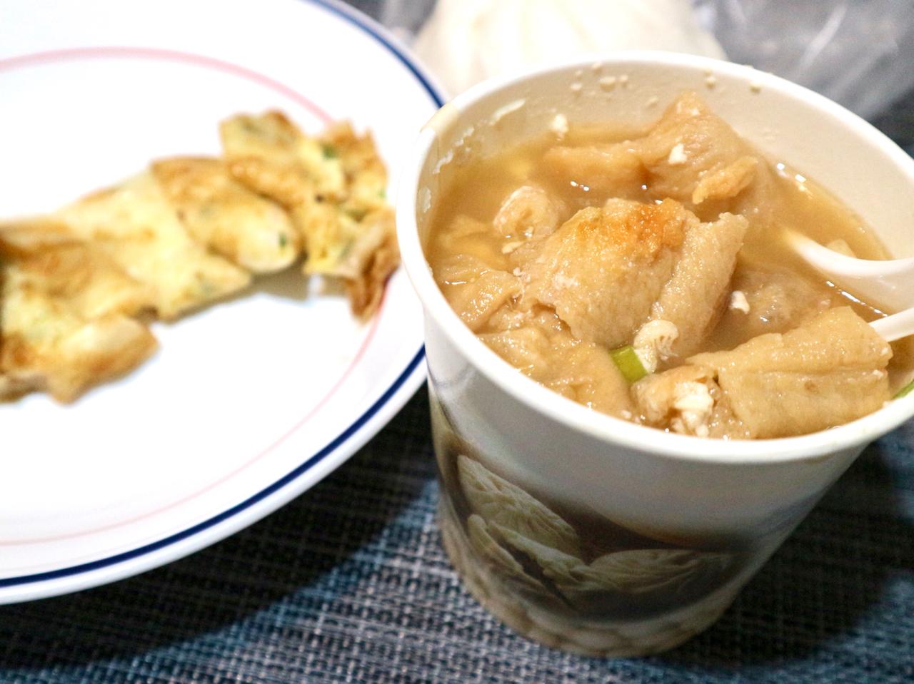 【台湾】鹹豆漿は夜ご飯にもおすすめ!朝6時から夜22時まで営業している豆乳店「四海豆漿大王」 画像8