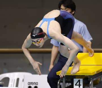 池江璃花子、学生選手権で初V 50m自、男子は川根正大3連覇 画像1