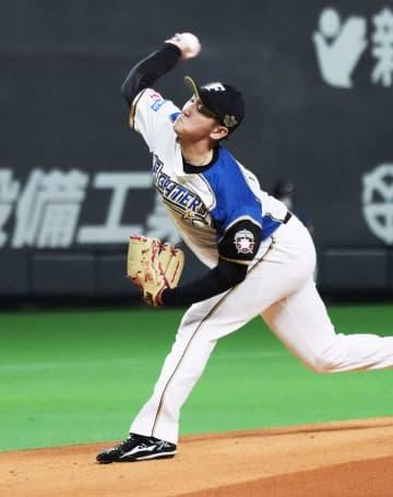 日9―0ロ(8日) 日本ハム立野が4勝目 画像1