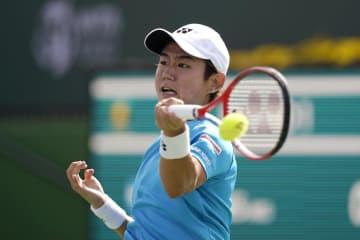 西岡良仁がシングルス2回戦へ テニスのBNPパリバ・オープン 画像1