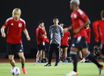 古橋ら控え組がミニゲームで汗 サッカー日本、豪州戦へ調整 画像1