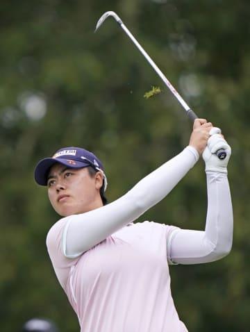 笹生優花、4打差の2位に浮上 米女子ゴルフ第3日 画像1
