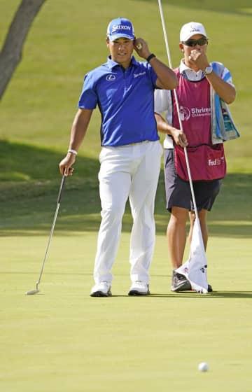 松山英樹、第3Rは63位に後退 米男子ゴルフ 画像1