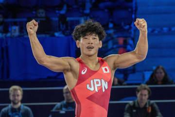 グレコ63キロ級で清水賢亮が銅 世界レスリング最終日 画像1
