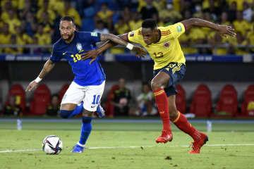 首位ブラジルは引き分け サッカーW杯南米予選 画像1