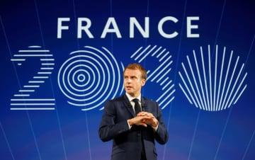 仏大統領、国内産業投資4兆円 筆頭は小型原子炉開発 画像1