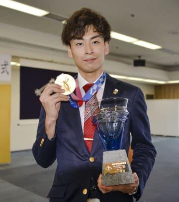 五輪金の宇山さんに栄誉賞 フェンシング、高松市 画像1
