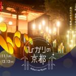 そうだ 京都、行こう。竹の灯りが京都の社寺を彩る「ひかりの京都」開催 画像1
