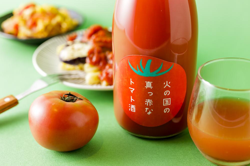 火の国の真っ赤なトマト酒